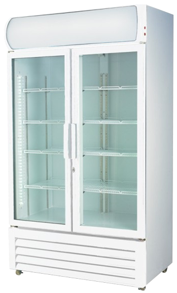F.E.D. Double Door Display Fridge